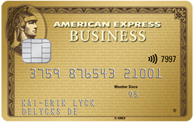 Die American Express Business Gold Card